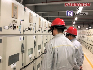 RealWear智慧穿戴裝置HMT-1 於能源行業的應用-遠程協作巡檢與維運。系統電子/提供