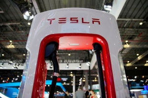 特斯拉(Tesla)。(圖/路透)