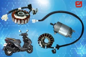 富立安的機車啟動馬達與磁電機,品質精良。富立安國際/提供