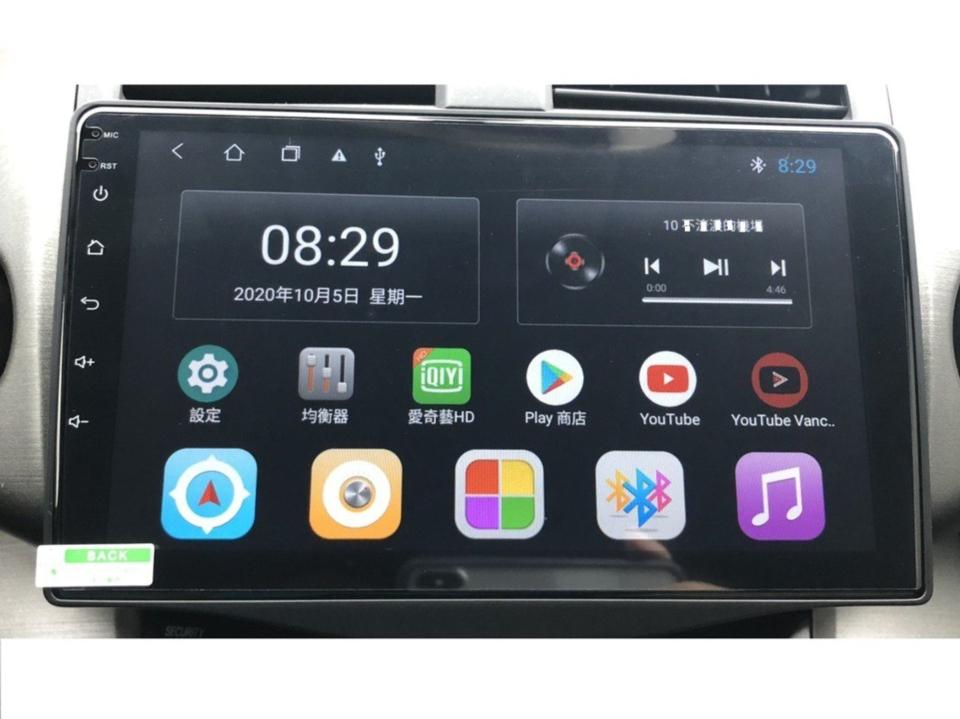 仕鋐科技安卓机,安装后实体画面。 仕鋐科技/提供