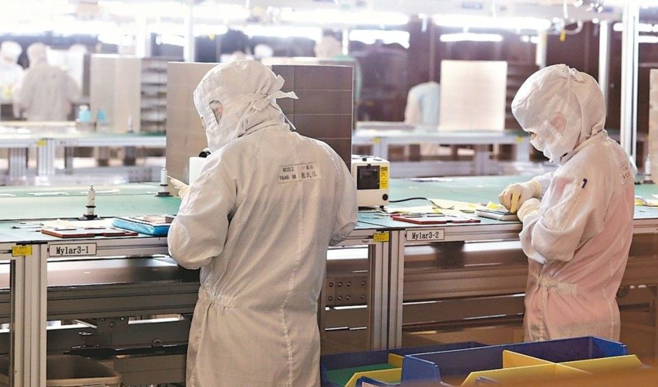 Innolux`s assembly factory in the Southern Taiwan Science Park. (UDN File Photo)