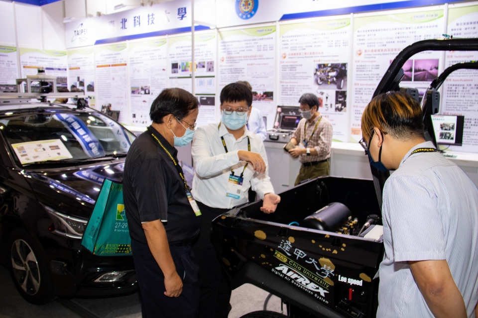 Ministry of Science and Technology brought autonomous solutions to AMPA.