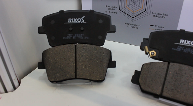 TBT features different brake pad series aimed at varied needs. (Photo taken by Chao Ting-yu)
