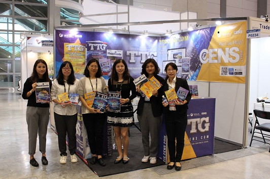 The Economic Daily News (CENS) team at 2020 Taipei AMPA. (Photo courtesy of CENS)
