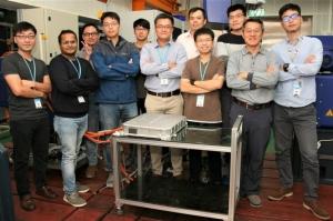 工研院智慧電動車輛開發團隊,攜手國內車廠要力拼10年後全面國產化的目標。(圖/工研院提供)