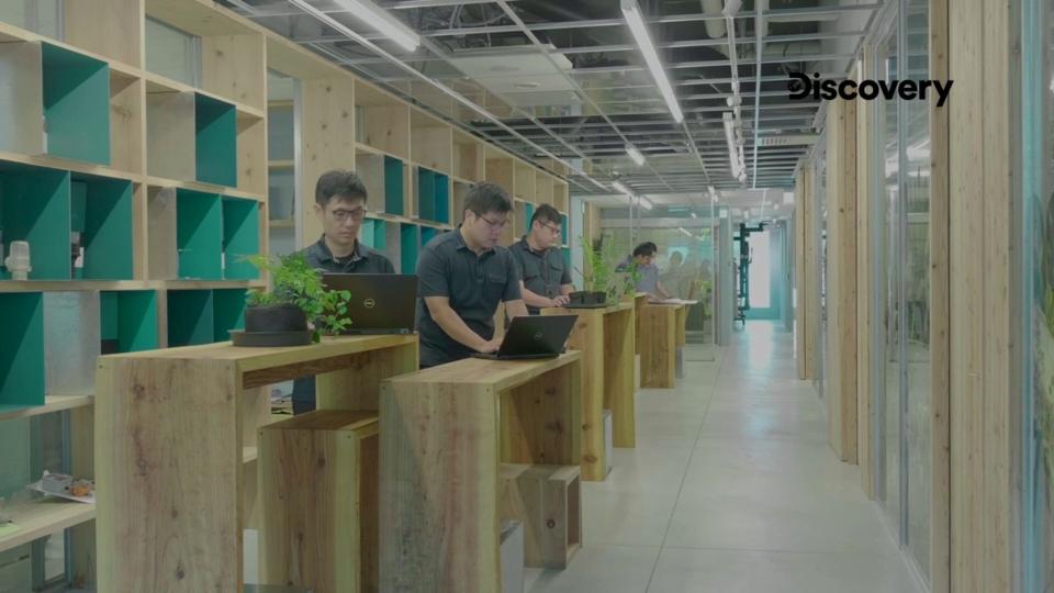 WELL健康建築標準的目的希望確保空間環境對使用者人體的身心健康無虞,對於辦公空間要達到健康建築標準,必須要考量員工辦公時的各種舒適度。(圖/Discovery集團提供)