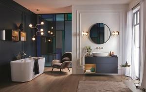 楠弘廚衛獨家代理歐洲經典衛浴品牌Villeroy & Boch。圖/楠弘廚衛提供
