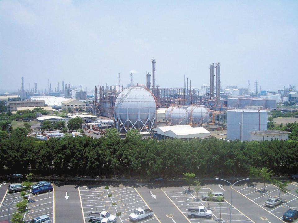 圖為台灣PVC生產廠。圖檔來源:聯合報系資料照