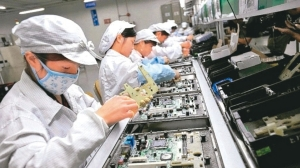 筆電代工廠示意圖。 聯合報系資料照