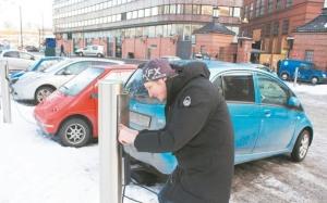 挪威是全球電動車滲透率最高的國家。圖檔來源:聯合報系資料照。