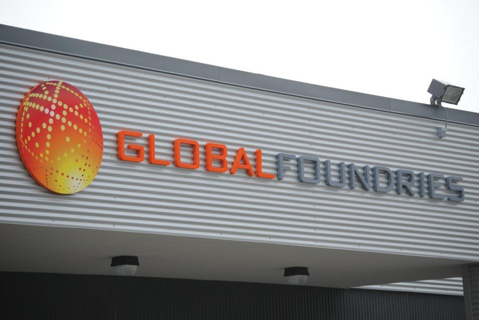 全球第四大晶圓代工廠格芯宣布,和美國國防部合作生產國防軍用晶片。(網路照片)