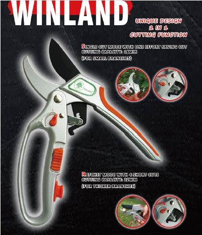 WINLAND GARDEN TOOLS CO., LTD.</h1><p class='subtitle'>Long Reach Pruner, Shears, Multifunctional Shears, Rotating Ratchet Pruner, Pruner, Garden Tools</p>