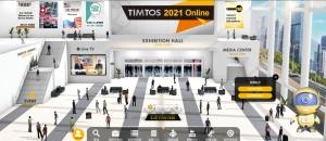 TIMTOS Online智慧觀展功能引導參觀者跟隨「看展小助手」參觀熱門展區