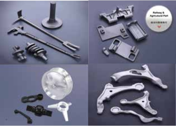 Crankshaft axle and safety tools (Photo courtesy of Chung Ho Cheng Enterprise)