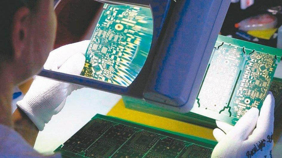 PCB產業示意圖。圖檔來源:聯合報系/路透