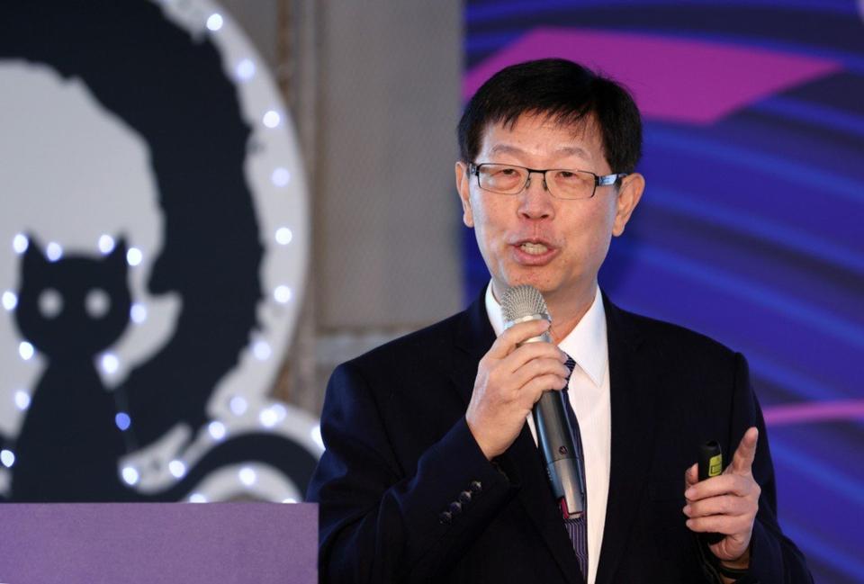 鴻海董事長劉揚偉。聯合報系資料照