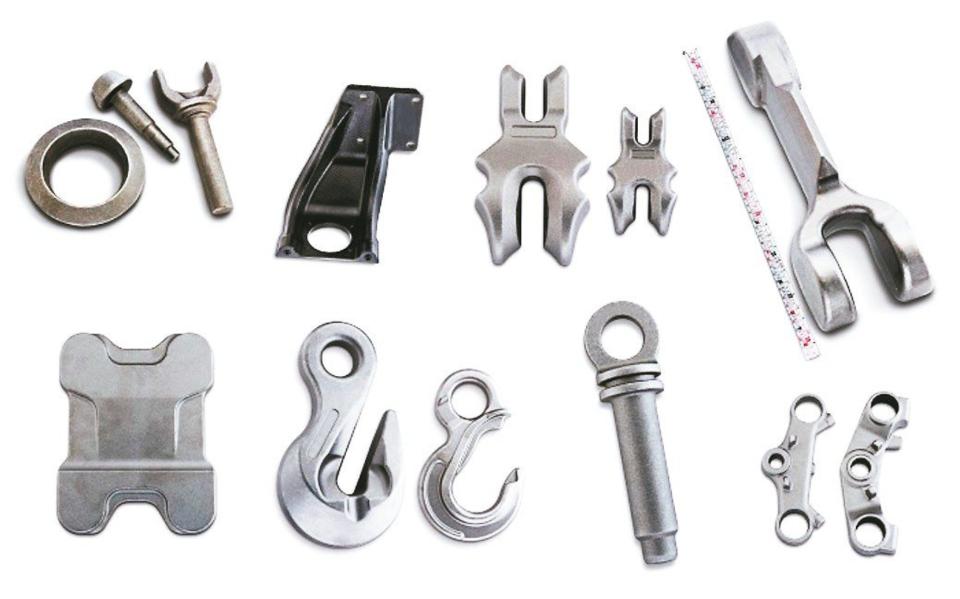 皇華機械鍛造產品,深獲日系客戶支持。皇華/提供
