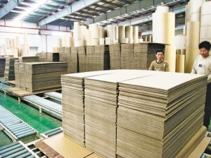 宅經濟需求大爆發,市場預期,電商拉貨動能增加,將使紙箱、紙器需求旺上加旺。圖檔來源:聯合報系資料照