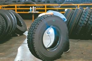 美國商務部對輪胎課徵的反傾銷案終判出爐,台灣稅率高於其他國家。圖檔來源:聯合報系資料照