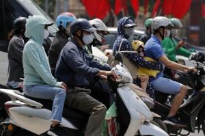 越南近期新冠疫情升溫。圖檔來源:歐新社
