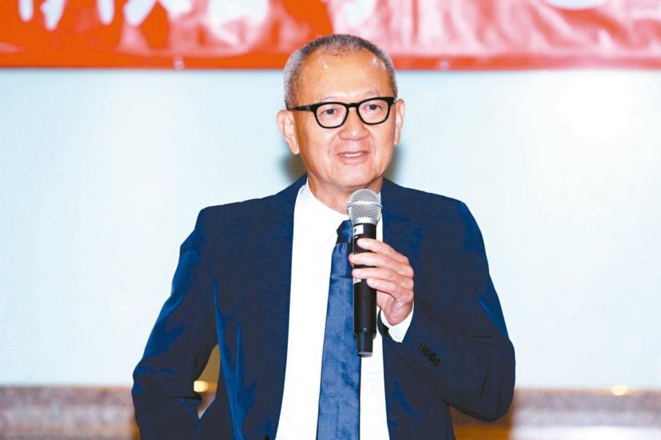 奇力新董事長陳泰銘。圖檔來源:聯合報系資料照