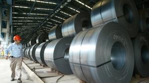 圖為中鋼公司。圖檔來源:聯合報系資料照