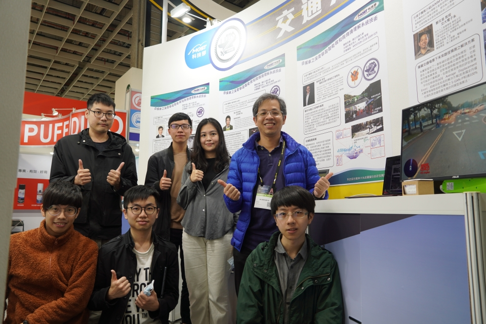 The research team at Taiwan`s National Yang Ming Chiao Tung University (NYCU) offers a different take on the existing methods for developing self-driving AI applications. (Photo courtesy of CENS)