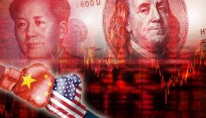 俄羅斯大力「去美元化」,中國大陸也在推動「人民幣國際化」,美中金融戰是否就要一觸即發? 美聯社