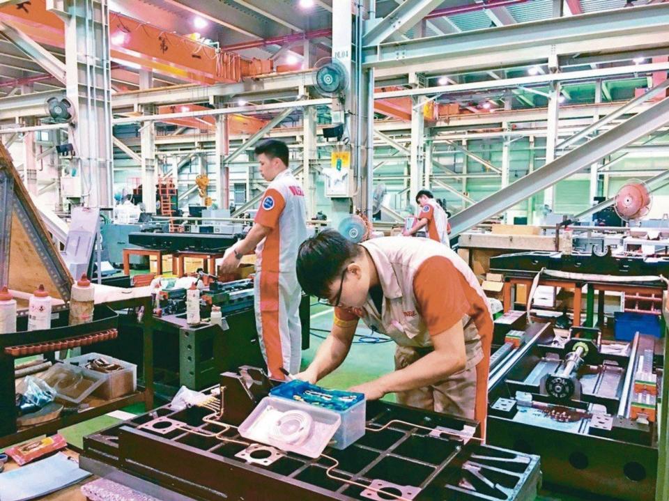 製造業示意圖,圖檔來源:聯合報系資料照