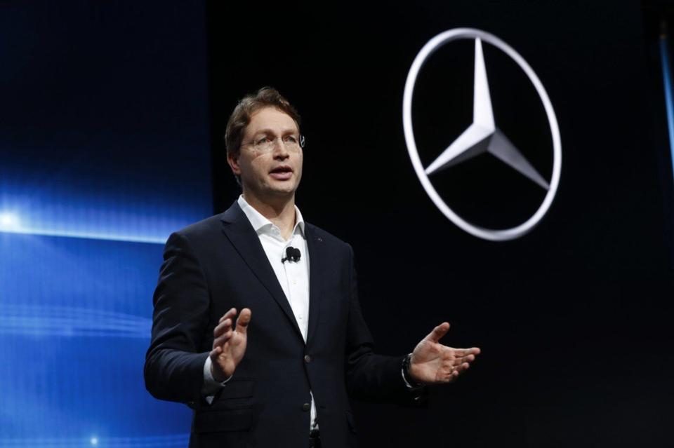 戴姆勒集團(Daimler)執行長康松林(Ola Kallenius)。(圖檔來源:聯合報系/美聯社)