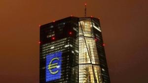 市場預料歐洲央行本周開會料會討論收緊自己的貨幣寬鬆措施,如此可能帶給Fed壓力。圖檔來源: 聯合報系/路透