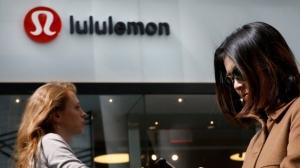 露露檸檬(Lululemon)8日上修今年全年財測。 w圖檔來源:聯合報系/路透
