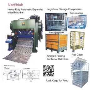 Nan Shiuh specializes in steel wire and expanded metal machineries</h2>