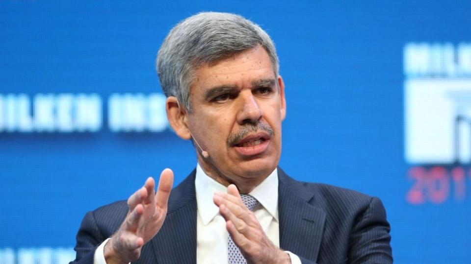 安聯集團首席經濟顧問伊爾艾朗(Mohammed El-Erian)。圖檔來源:聯合報系/路透