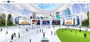 TaipeiPLAS & ShoeTech Taipei DigitalGo入口大廳/貿協提供