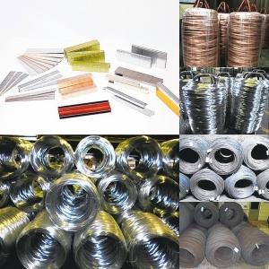 竹洲工業的抽線、電鍍線、製釘及製針產品。竹洲工業/提供