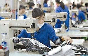 製鞋廠資料照。圖檔來源:聯合報系/路透