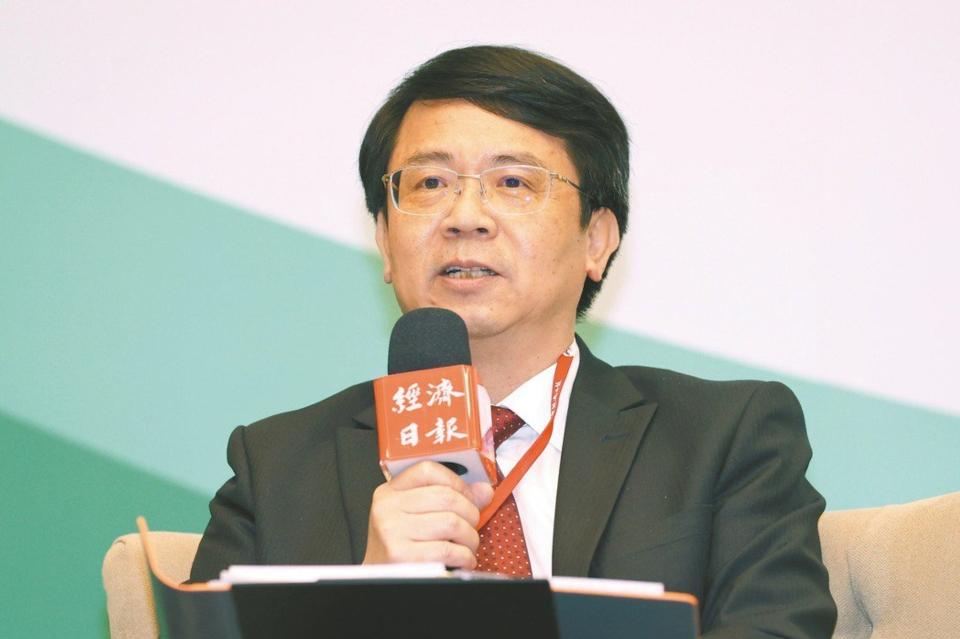 中经院院长张傅章。图档来源:联合报系