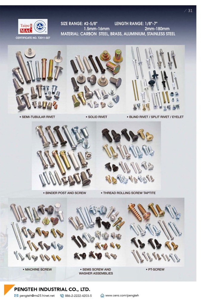 Fasteners E-Magazine PENGTEH INDUSTRIAL CO., LTD.