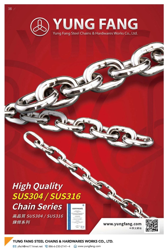YUNG FANG STEEL CHAINS & HARDWARES WORKS CO., LTD.