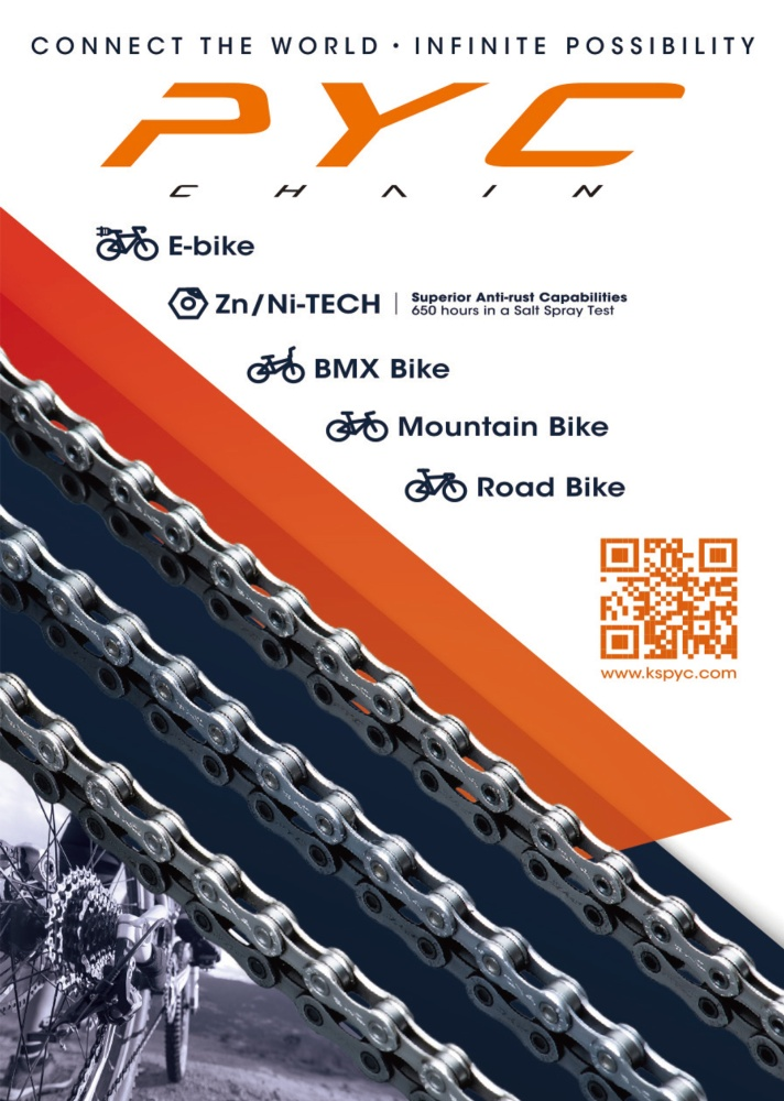 Taipei Int'l Cycle Show LIXING CHAIN CO., LTD.