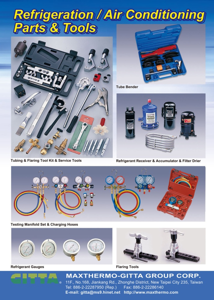 Guidebook to Taiwan Hand Tools MAXTHERMO-GITTA GROUP CORP.