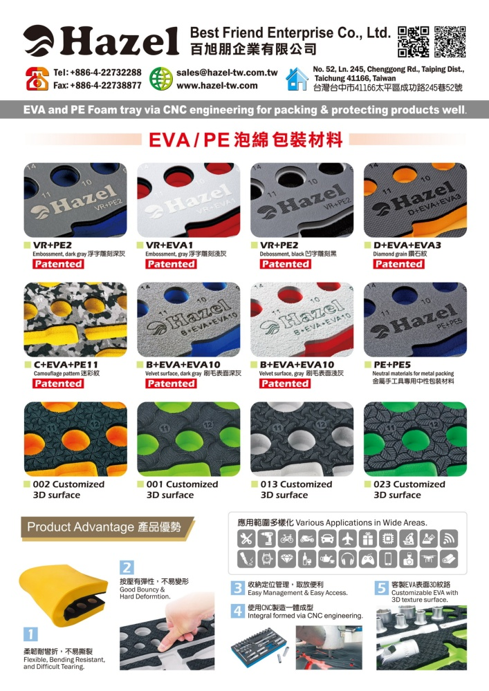 Taiwan Hand Tools BEST FRIEND ENTERPRISE CO., LTD.