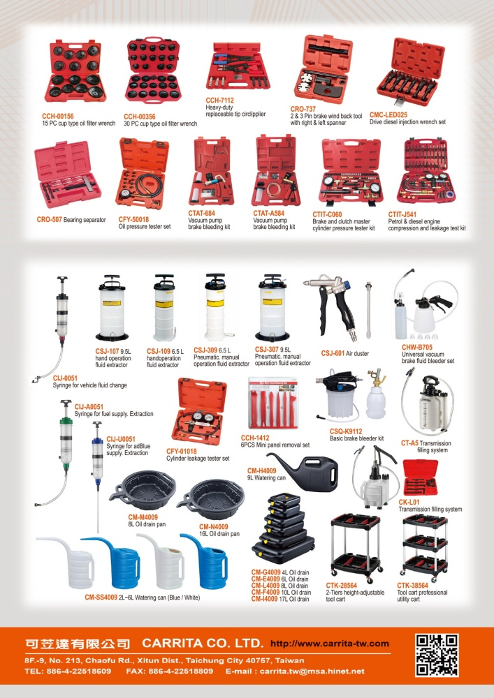 Guidebook to Taiwan Hand Tools CARRITA CO., LTD.