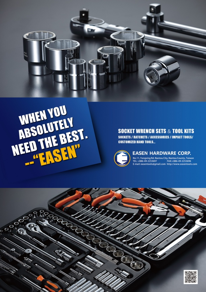 Guidebook to Taiwan Hand Tools EASEN HARDWARE CORP.