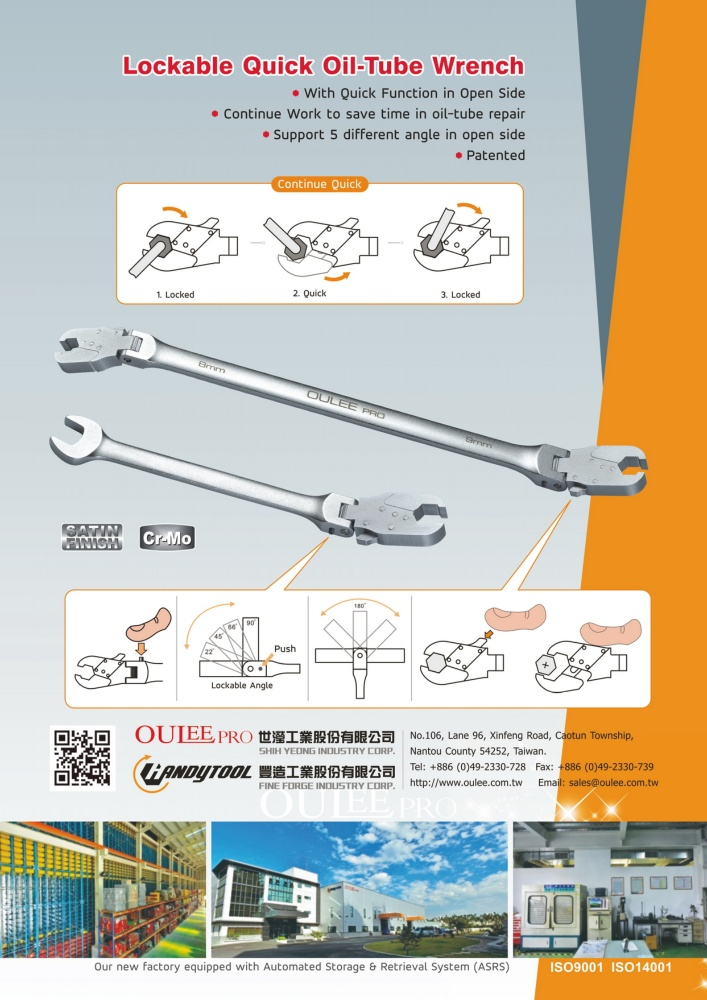 Guidebook to Taiwan Hand Tools FINE FORGE INDUSTRY CORP.