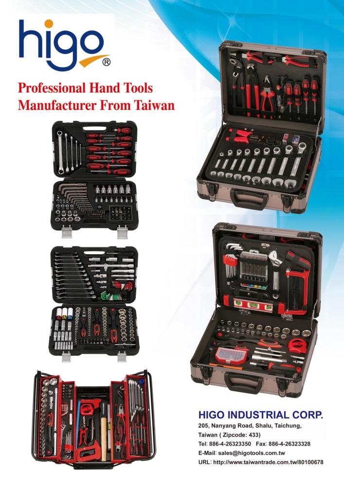 Guidebook to Taiwan Hand Tools HIGO INDUSTRIAL CORP.