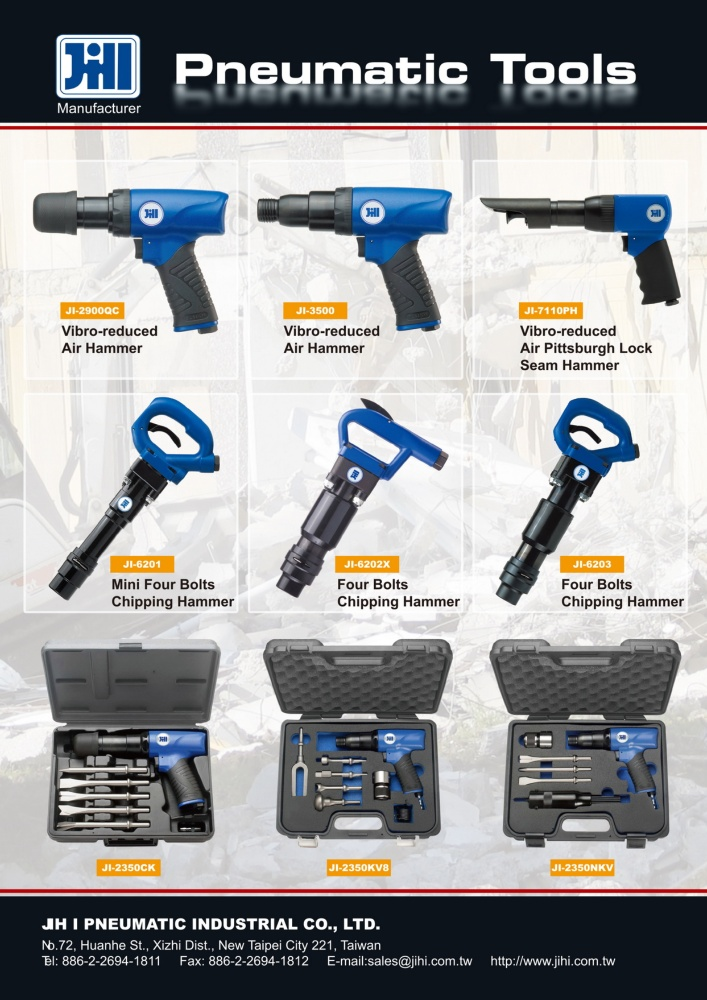 Guidebook to Taiwan Hand Tools JIH I ENTERPRISE CO., LTD.