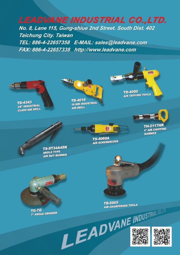 Guidebook to Taiwan Hand Tools LEADVANE INDUSTRIAL CO., LTD.