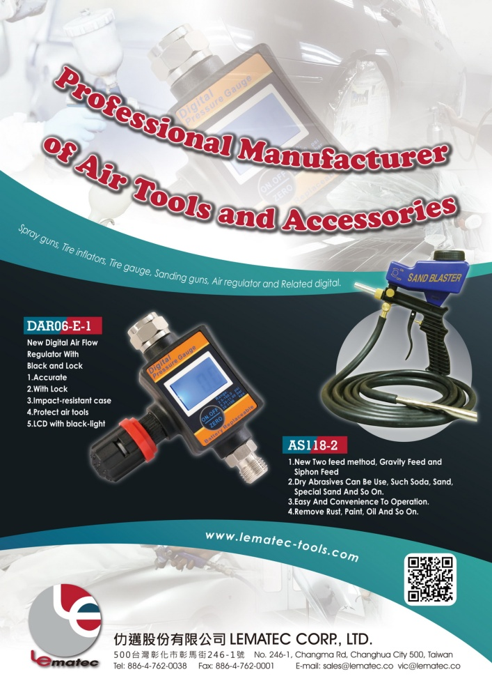 Guidebook to Taiwan Hand Tools LEMATEC CORP.